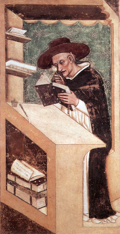 Cardinal Nicholas of Rouen 1351-52 | Tommaso Da Modena | Oil Painting