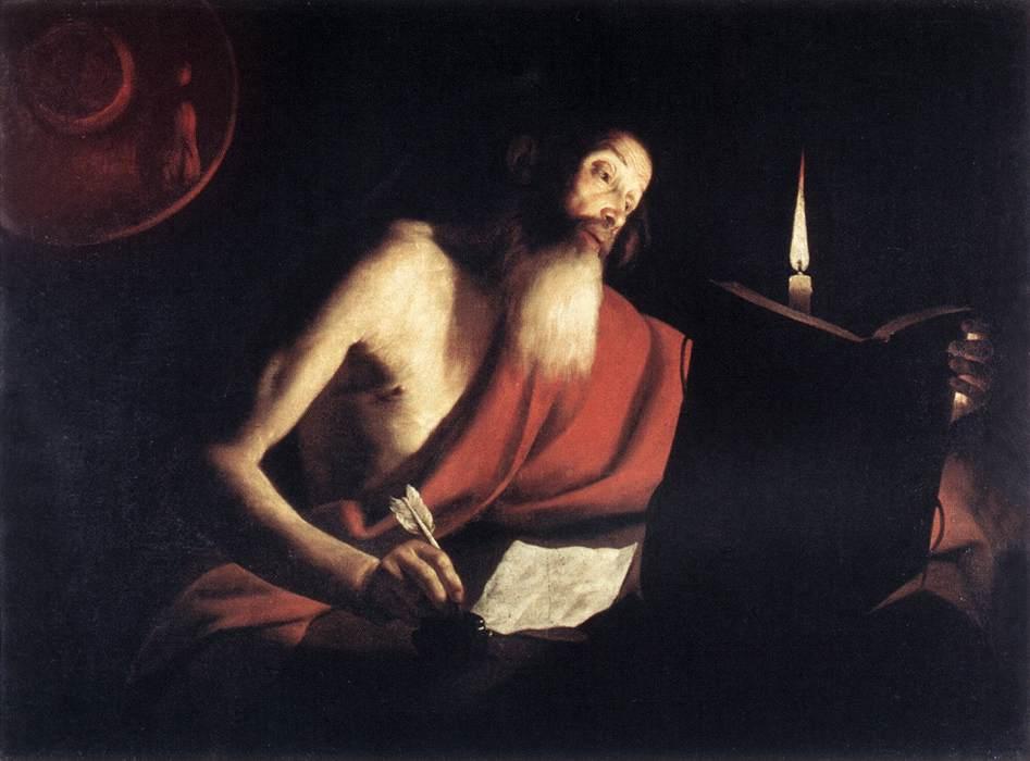 St Jerome 1630s | Trophime Bigot | Oil Painting