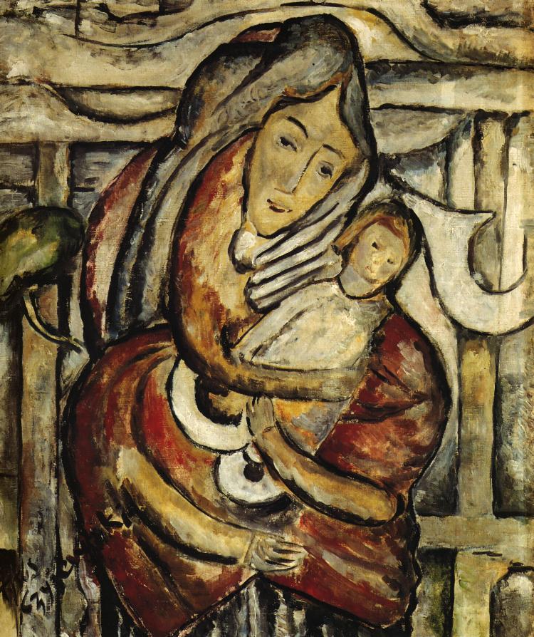 Madonna And Child | Tytus Czyzewski | Oil Painting