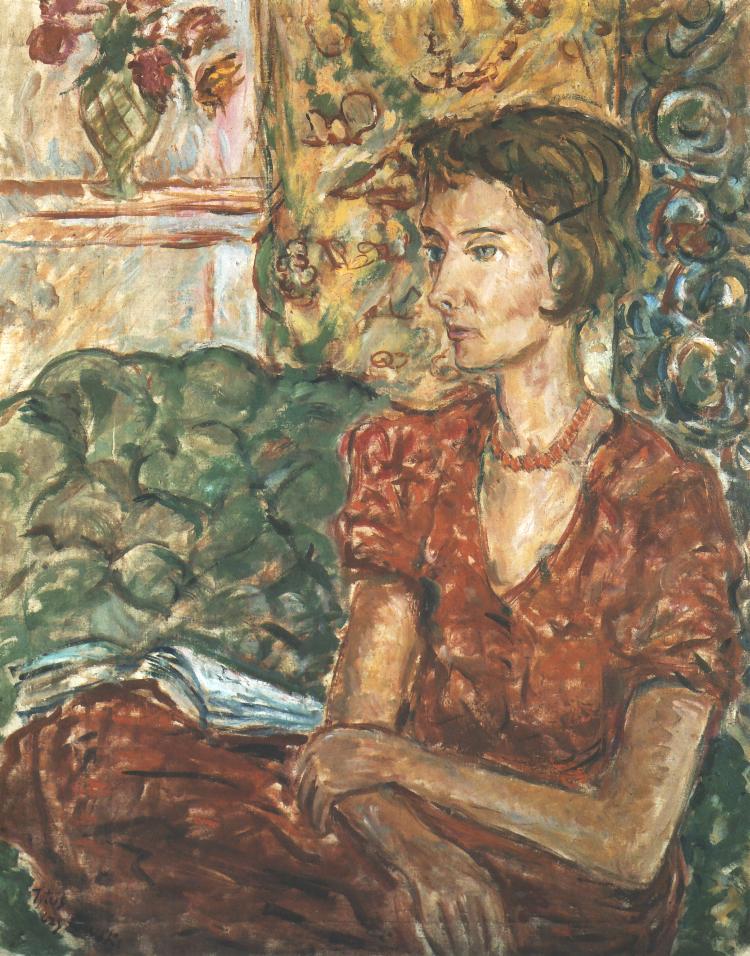 Portrait Of Magdalena Potworowska | Tytus Czyzewski | Oil Painting