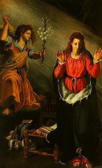The Annunciation | Alessandro Allori | Oil Painting