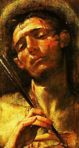 St Sebastian | Andrea Boscoli | Oil Painting