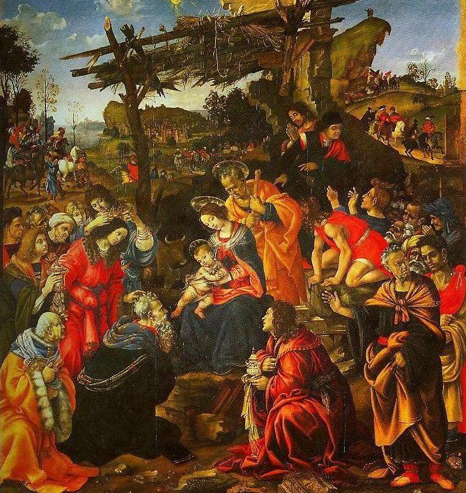 The Adoration of the Magi | Filippino Lippi | Oil Painting