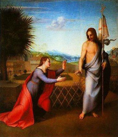 Noli Me Tangere | Andrea Del Sarto | Oil Painting