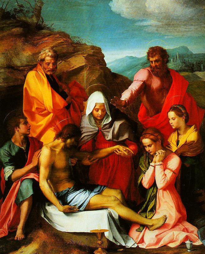 Pieta with Saints (Pieta of Luco) | Andrea Del Sarto | Oil Painting