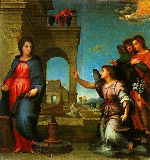 The Annunciation | Andrea Del Sarto | Oil Painting