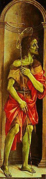 St John the Baptist | Filippino Lippi | Oil Painting