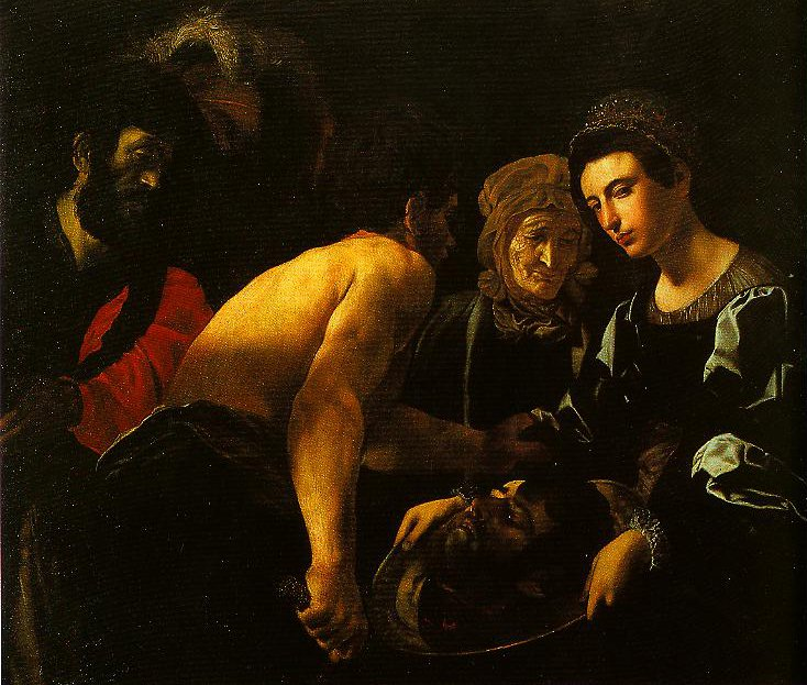 Salome with the Head of John the Baptist | Giovanni Battista Caracciolo | Oil Painting