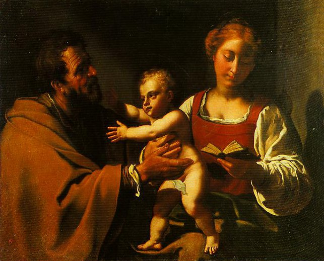 The Holy Family | Antiveduto Gramatica | Oil Painting