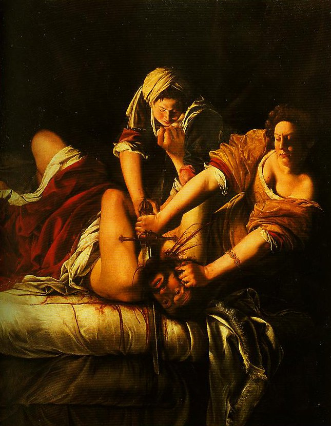 Judith Beheading Holofernes | Artemisia Gentileschi | Oil Painting