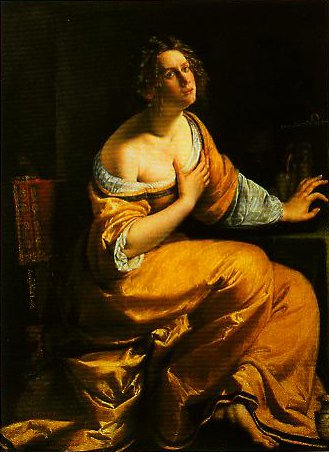 Mary Magdalen | Artemisia Gentileschi | Oil Painting