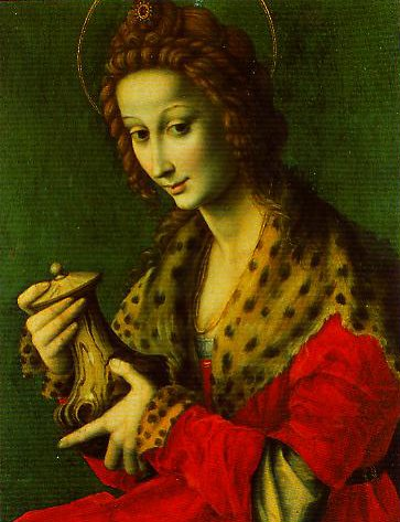 Mary Magdalen | Bachiacca | Oil Painting