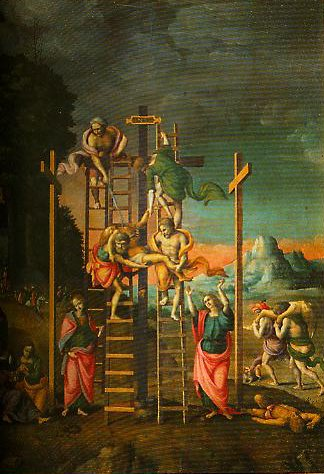 The Deposition from the Cross | Bachiacca | Oil Painting