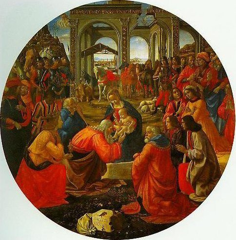 The Adoration of the Magi | Domenico Ghirlandaio | Oil Painting