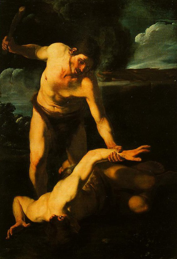 Cain and Abel | Bartolomeo Meanfredi | Oil Painting