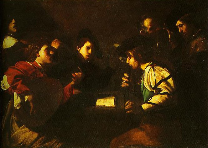 The Concert | Bartolomeo Meanfredi | Oil Painting