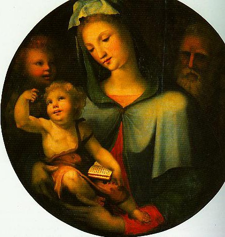 The Holy Family with the Young St John | Beccafumi | Oil Painting