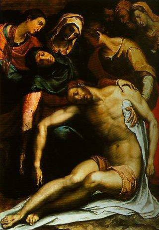 Pieta | Stefano Pieri | Oil Painting