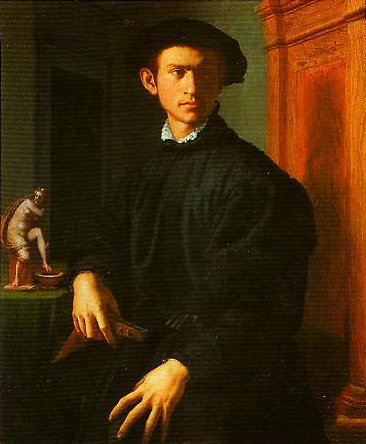 Portrait of a Young Men with A Lute | Bronzino | Oil Painting