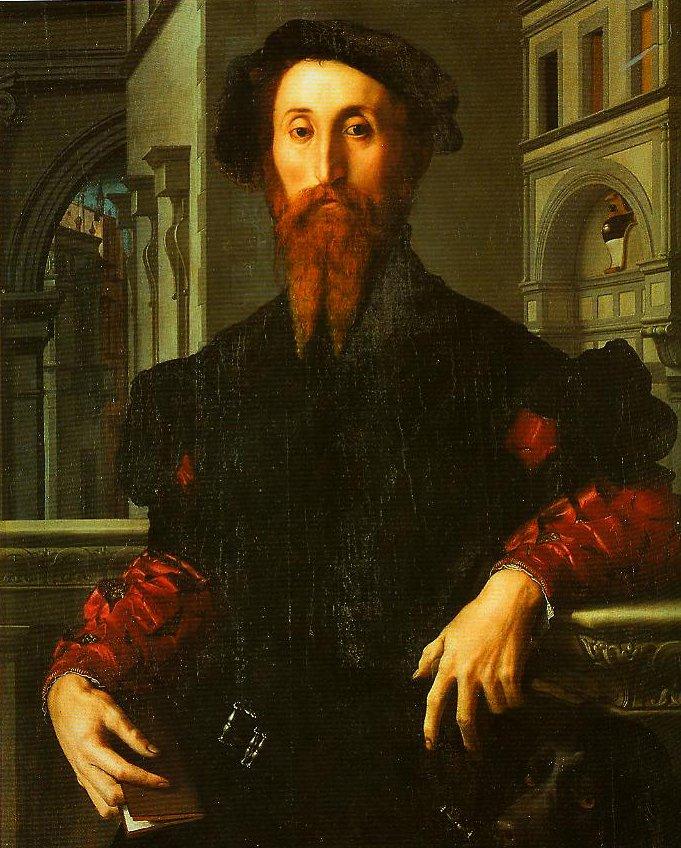 Portrait of Bartolomeo Panciatichi | Bronzino | Oil Painting