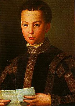 Portrait of Francesco I as a Young Man | Bronzino | Oil Painting