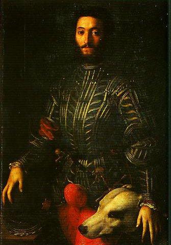 Portrait of Guidubaldo della Rovere | Bronzino | Oil Painting