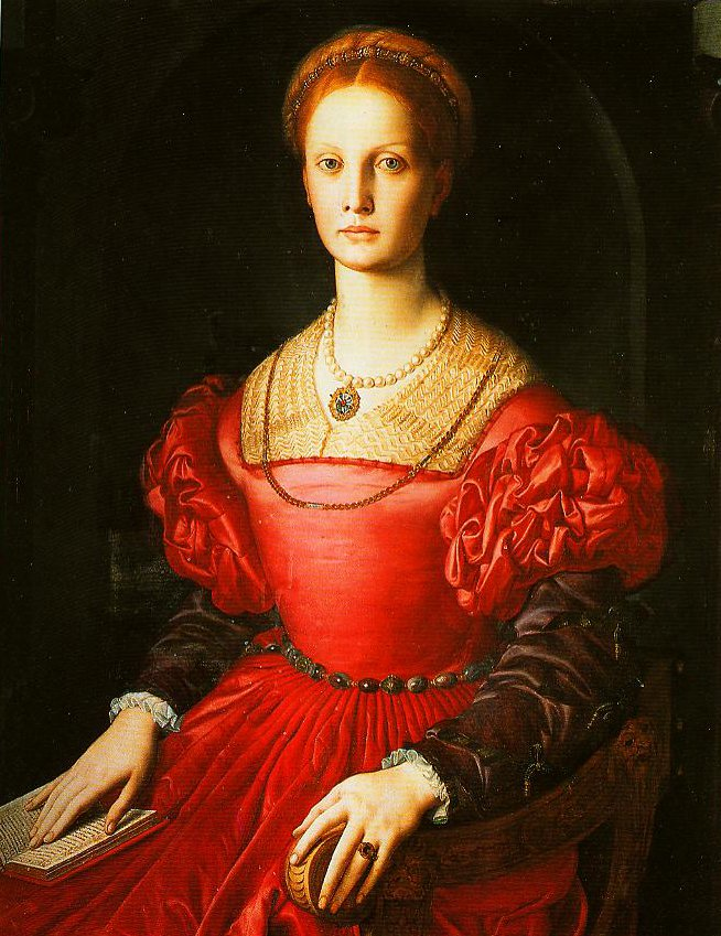 Portrait of Lucrezia Pucci Pancitichi   Bronzino   Oil Painting
