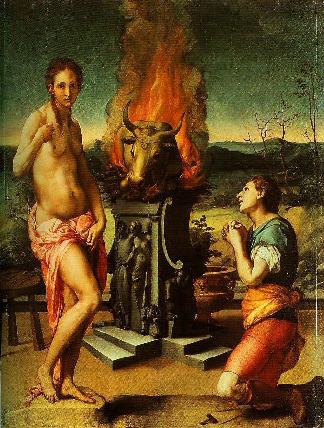 Pygmalion and Galatea | Bronzino | Oil Painting