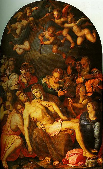 The Deposition from the Cross   Bronzino   Oil Painting