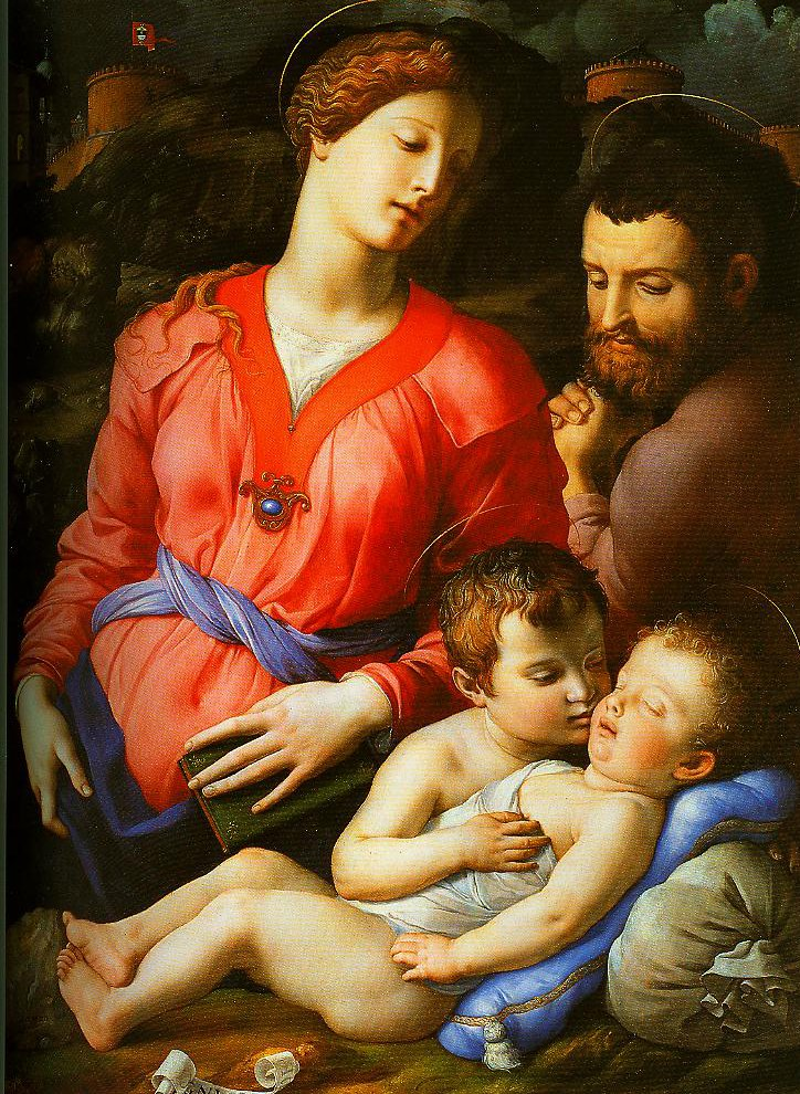 The Holy Family | Bronzino | Oil Painting