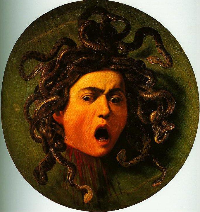 Medusa | Caravaggio | Oil Painting
