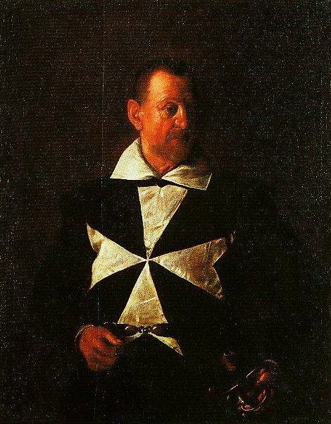 Portrait of a Knight of Malta   Caravaggio   Oil Painting