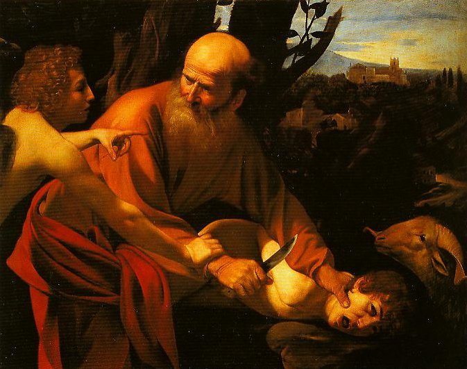 The Sarifice of Isaac   Caravaggio   Oil Painting
