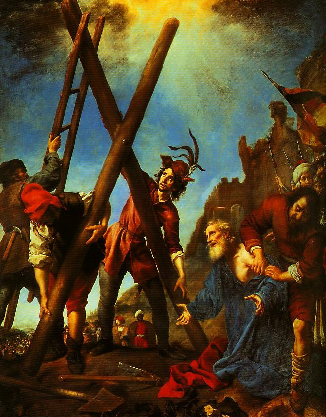 St Andrwo before the Cross   Carlo Dolci   Oil Painting