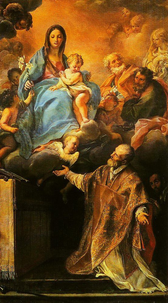 The Madonna Appearing to St Philip Neri | Carlo Maratta | Oil Painting