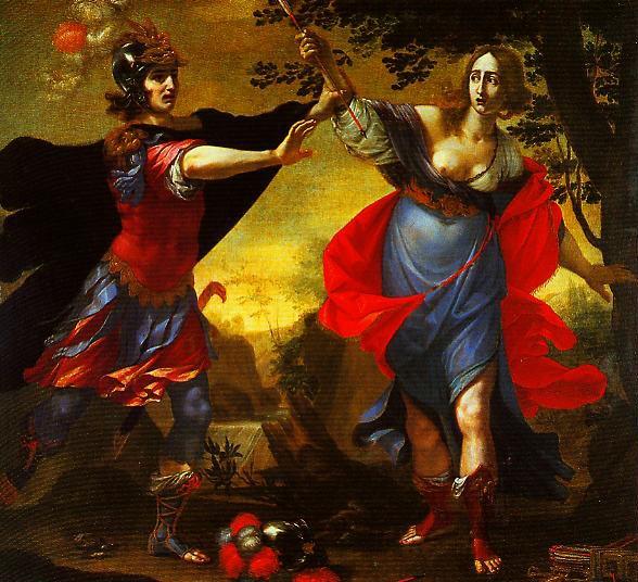 Rinaldo and Armida   Cesare Dandini   Oil Painting