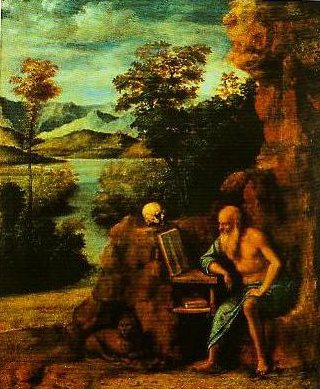 St Jerome in the Desert | Cima Da Conegliano | Oil Painting