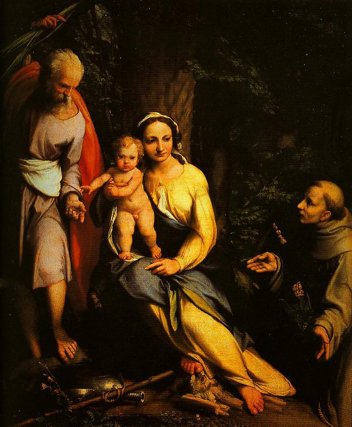 The Rest on the Flight into Egypt | Correggio | Oil Painting