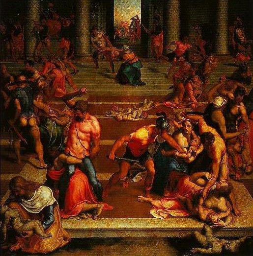 Massacre of the Innocents | Daniele Da Volterra | Oil Painting
