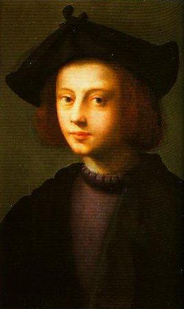 Portrait of Piero Carnesecchi | Domenico Puligo | Oil Painting