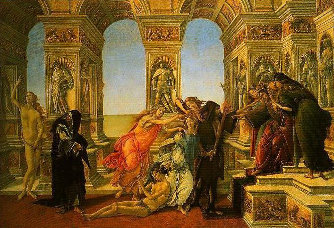 The Calumny | Sandro Botticelli | Oil Painting
