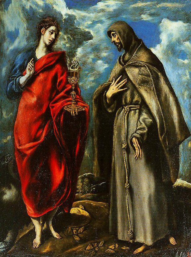 SS John the Evangelist and Francis | El Greco | Oil Painting