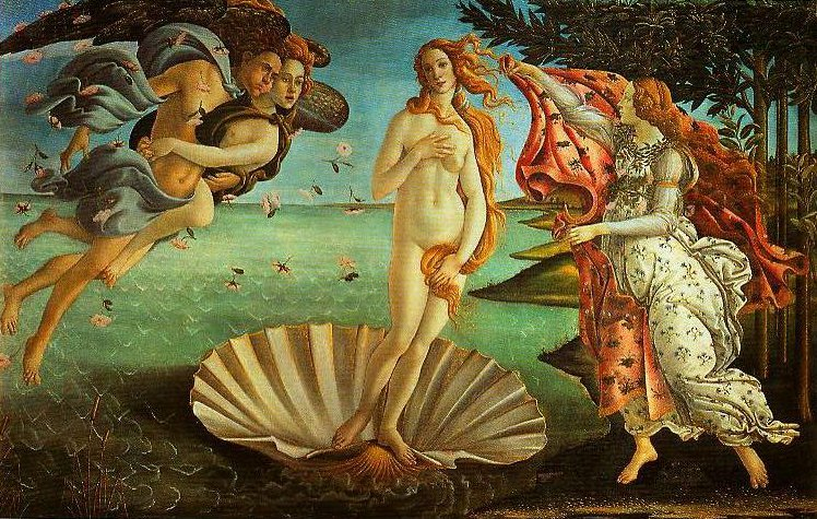 The Birth of Venus | Sandro Botticelli | Oil Painting