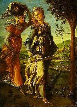Judith Returns from the Enemy Camp at Bethulia | Sandro Botticelli | Oil Painting