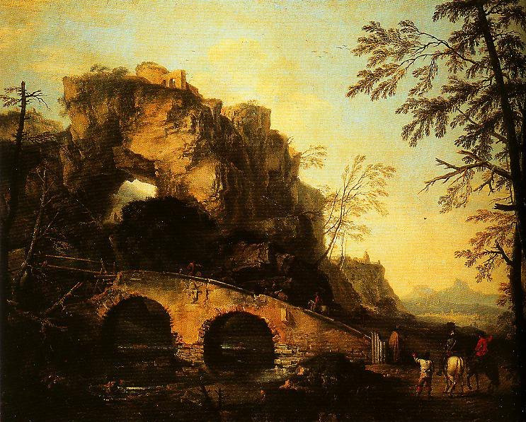 The Ruined Bridge | Salvator Rosa | Oil Painting