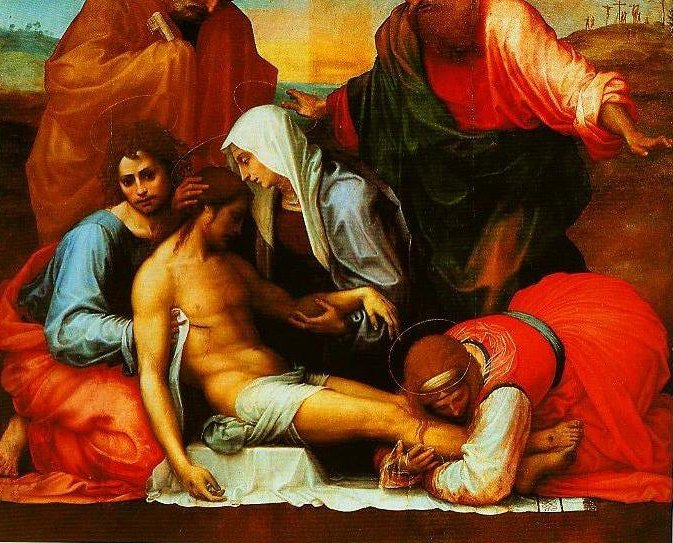 Pieta with SS Peter and Paul | Fra Bartolomeo | Oil Painting