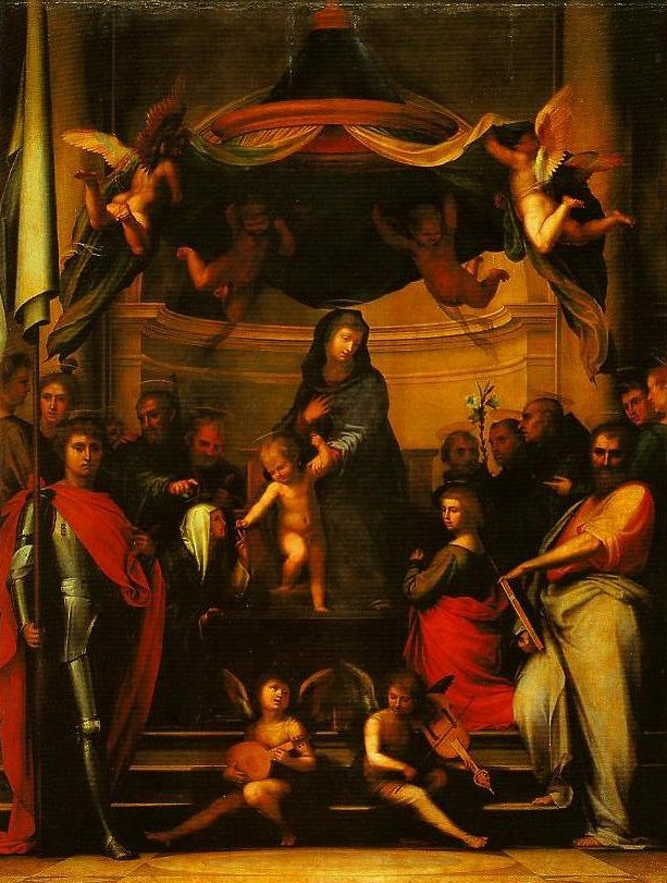 The Mystic Marriage of St Catherine | Fra Bartolomeo | Oil Painting