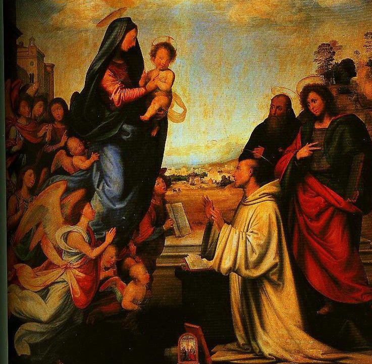 The Vision of St Bernard | Fra Bartolomeo | Oil Painting