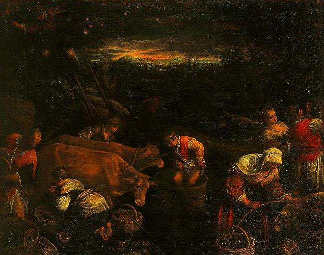 Rural Scene | Francesco Bassano | Oil Painting