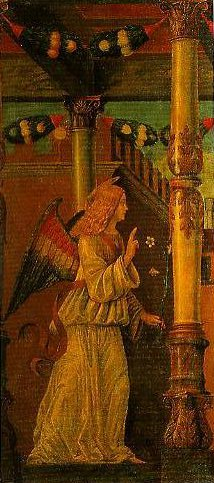 The Angel of the Annunciation | Francesco Morone | Oil Painting
